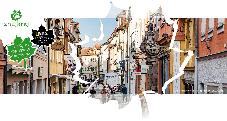 Ulica Neustadt w Ansbach