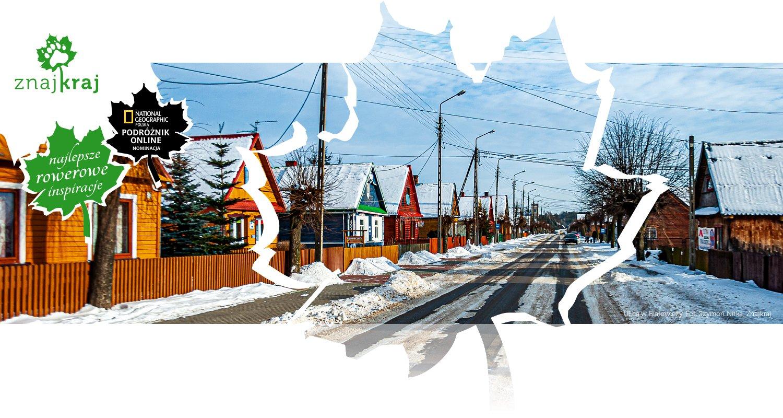 Ulica w Białowieży