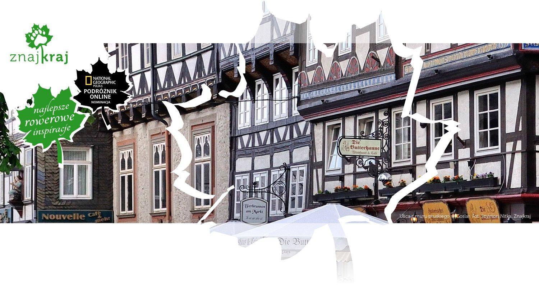 Ulica z muru pruskiego w Goslar