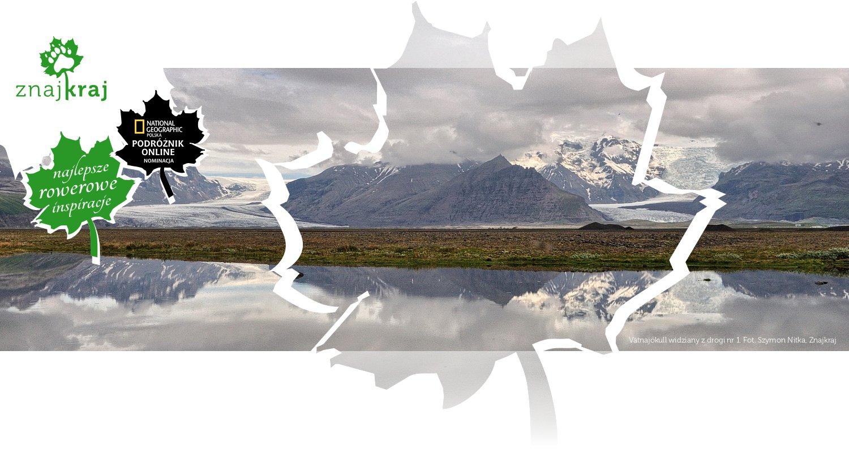 Vatnajökull widziany z drogi nr 1