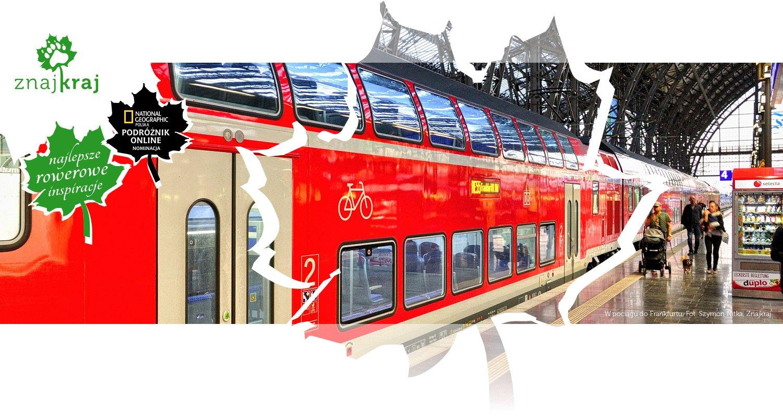 W pociągu do Frankfurtu