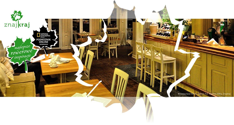 W restauracji Hotelu Jabłoń
