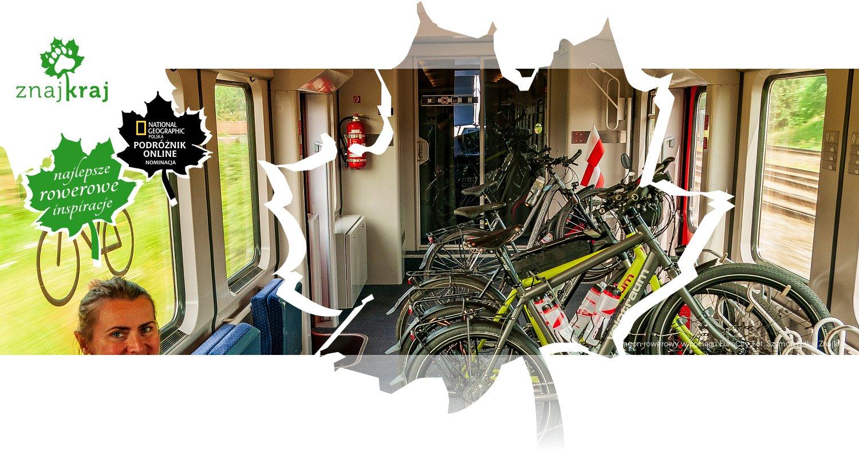 Wagon rowerowy w pociągu EuroCity