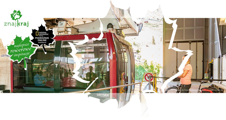 Wagonik kolei linowej do Soprabolzano