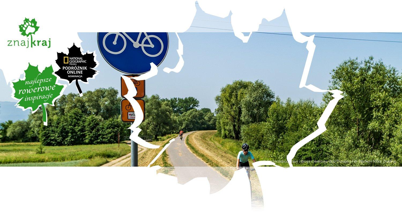 Wał przeciwpodziowy i droga rowerowa Velo Dunajec