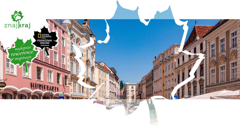 Wąski plac miejski w Steyr