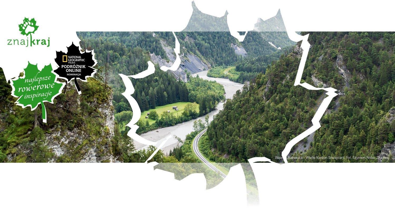 Wąwóz Ruinaulta - Wielki Kanion Szwajcarii