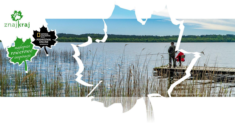 Wędkarze nad Jeziorem Choczewskim