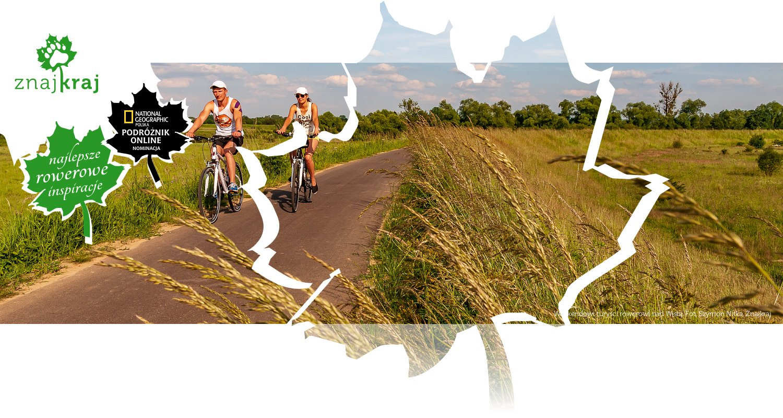Weekendowi turyści rowerowi nad Wisłą
