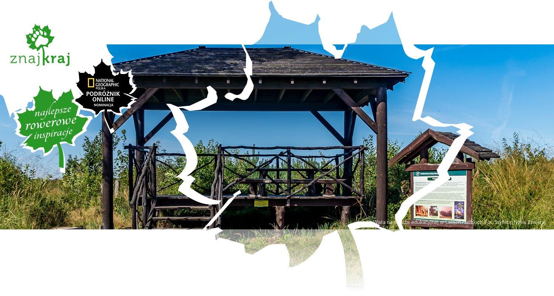 Wiata na ścieżce edukacyjnej w Lasach Rudzkich