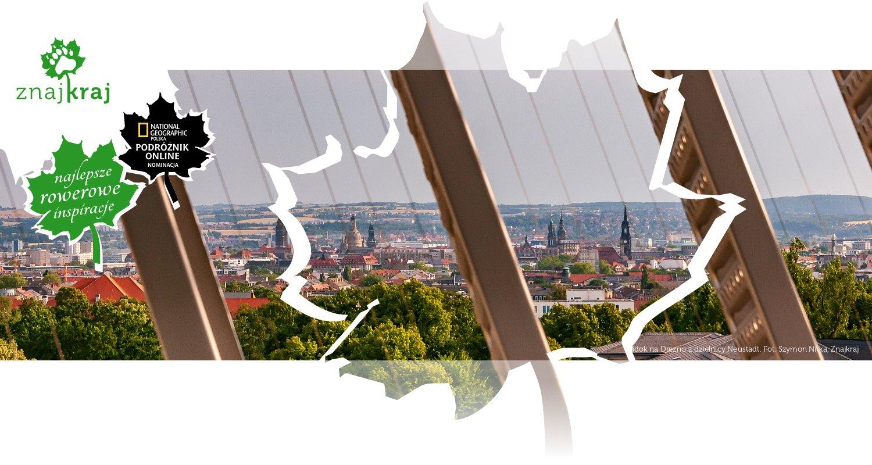 Widok na Drezno z dzielnicy Neustadt