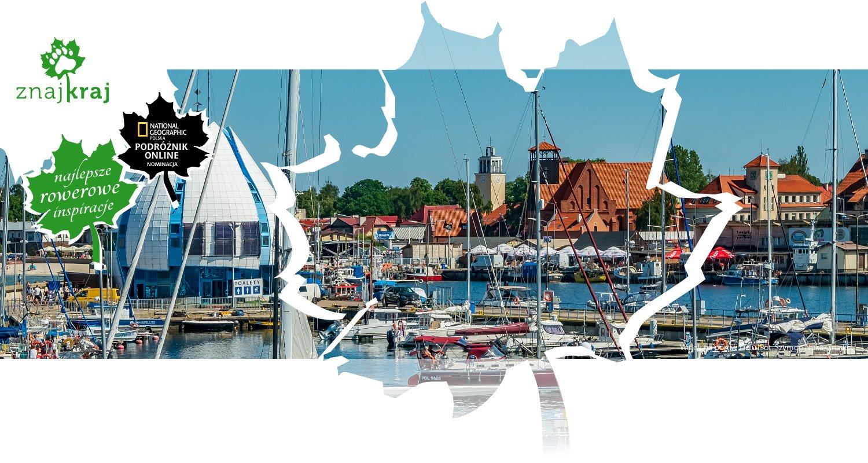 Widok na port w Helu