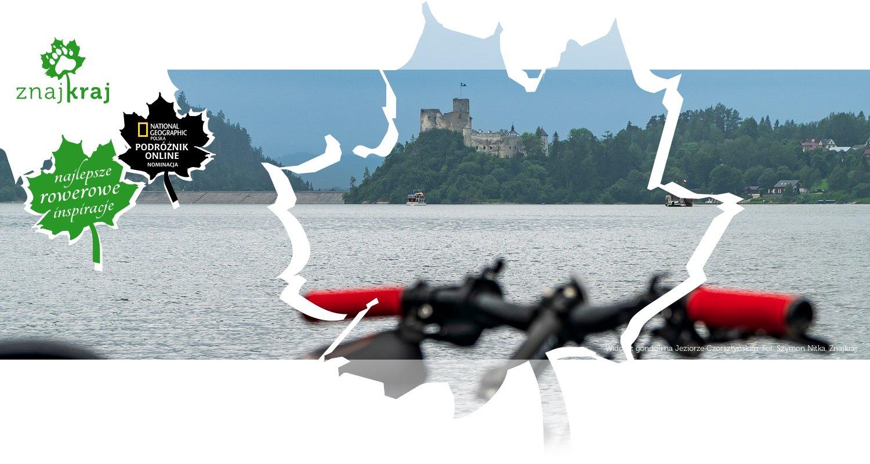 Widok z gondoli na Jeziorze Czorsztyńskim