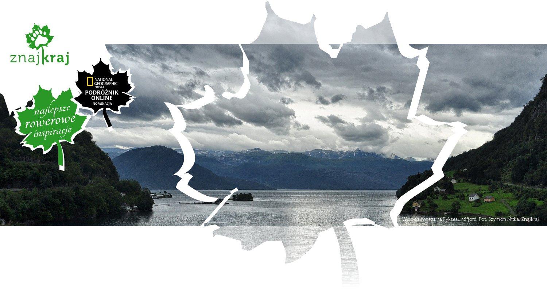 Widok z mostu na Fyksesundfjord