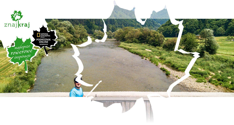 Widok z rowerowego mostu Żegiestów-Sulin