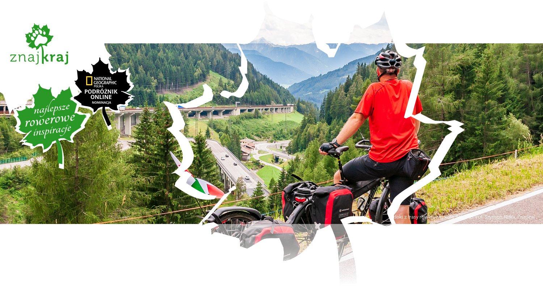 Widoki z trasy rowerowej koło Bolzano