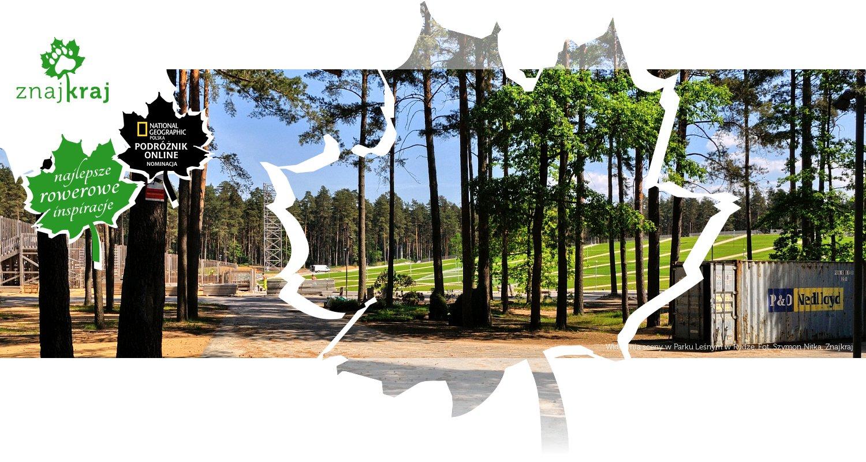 Widownia sceny w Parku Leśnym w Rydze