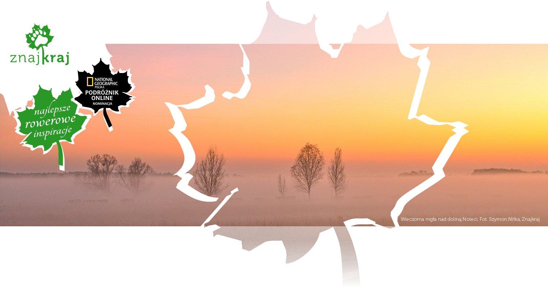 Wieczorna mgła nad doliną Noteci