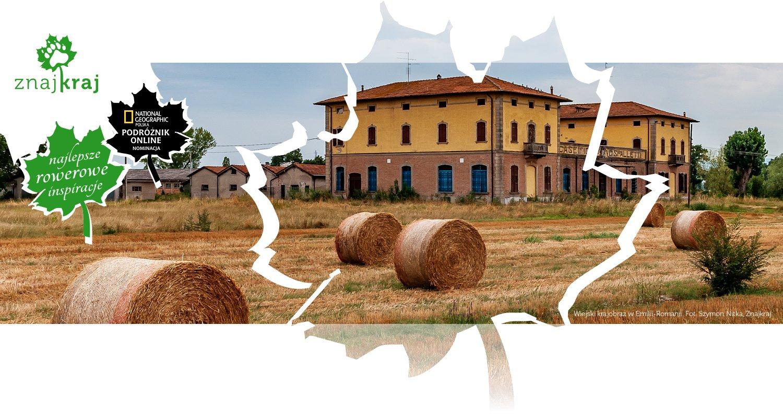 Wiejski krajobraz w Emilii-Romanii