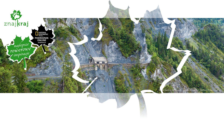Wielki Kanion, Szwajcaria - górska droga