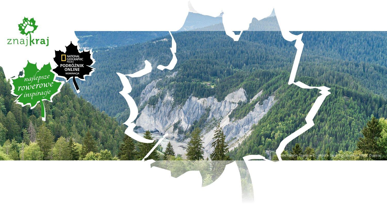 Wielki Kanion Szwajcarii - okolice Ilanz