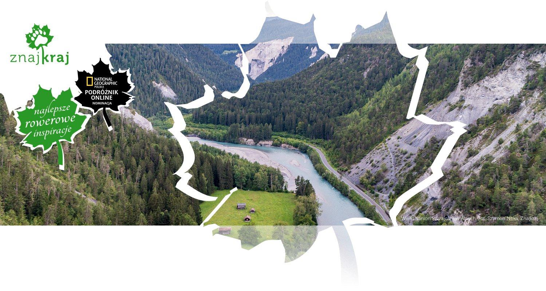 Wielki Kanion Szwajcarii w Alpach