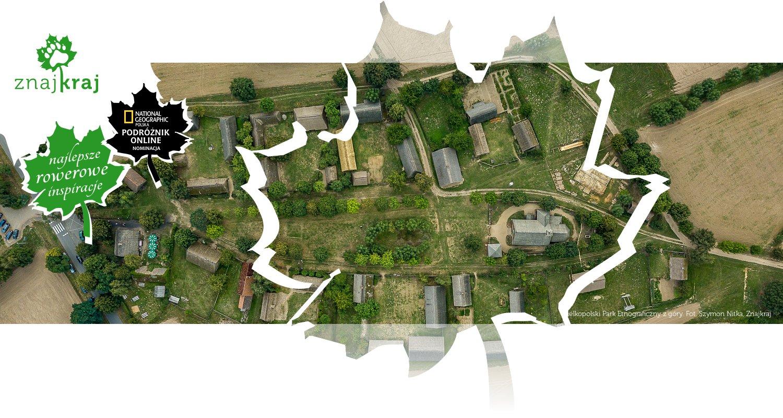 Wielkopolski Park Etnograficzny z góry