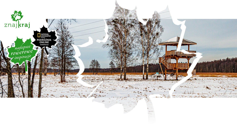 Wieża obserwacyjna koło Białowieży