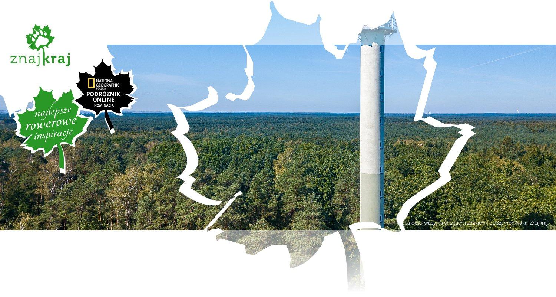 Wieża obserwacyjna w lasach rudzkich