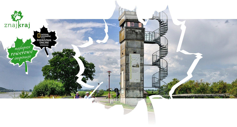 Wieża wartownicza na dawnej granicy niemieckiej