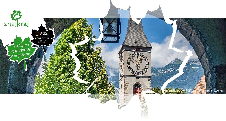 Wieża zegarowa w Chur w Szwajcarii
