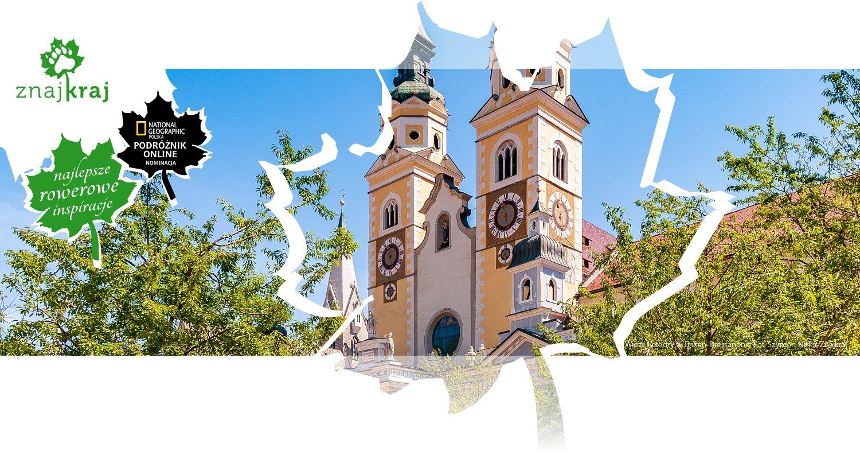 Wieże katedry w Brixen-Bressanone
