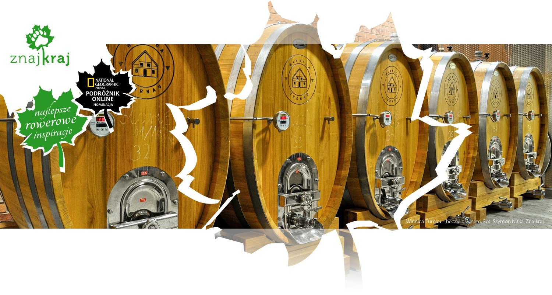 Winnica Turnau - beczki z winem