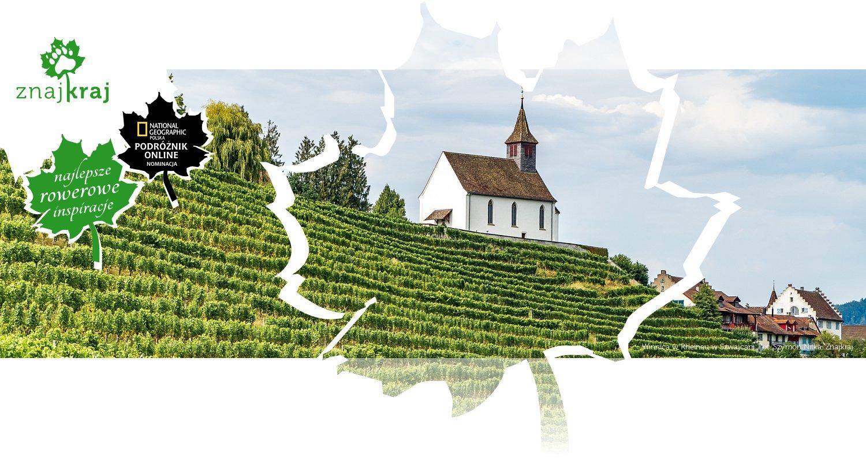 Winnica w Rheinau w Szwajcarii