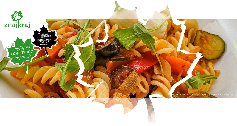 Włoskie jedzenie w Południowym Tyrolu