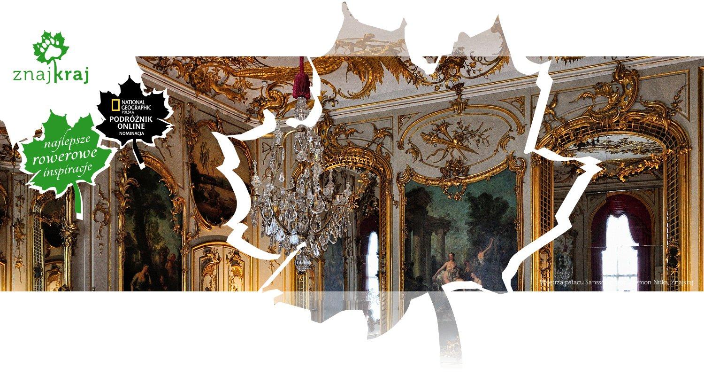 Wnętrza pałacu Sanssouci