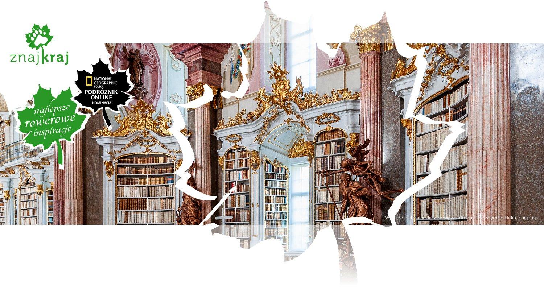 Wnętrze biblioteki klasztornej w Admont