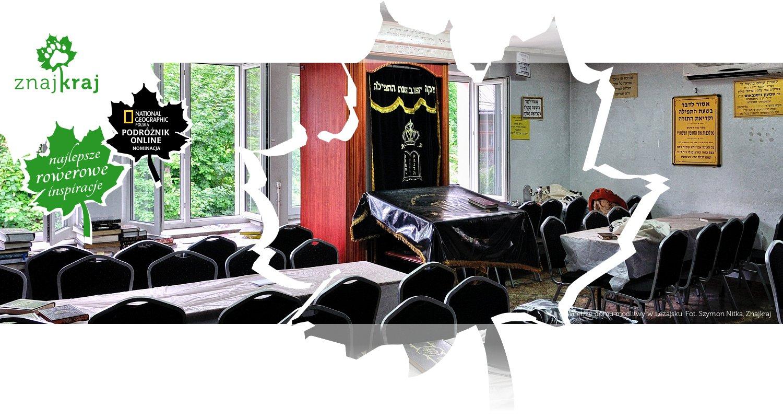 Wnętrze domu modlitwy w Leżajsku