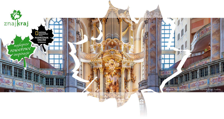 Wnętrze Frauenkirche w Dreźnie