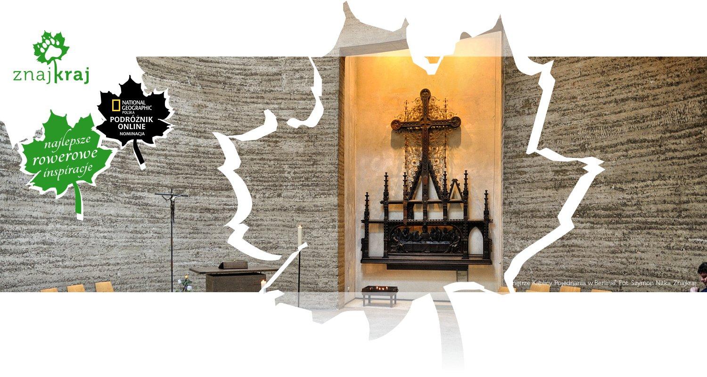 Wnętrze Kaplicy Pojednania w Berlinie