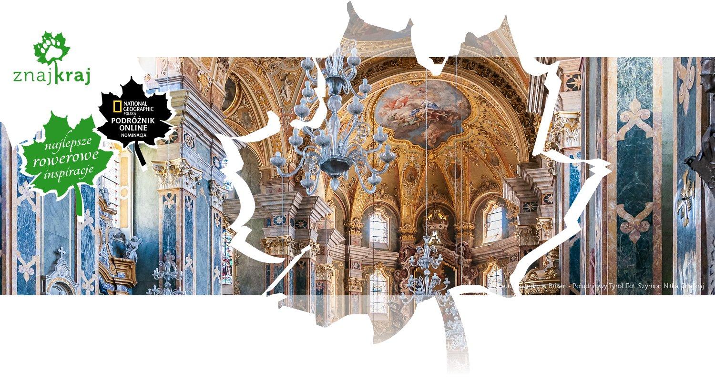 Wnętrze katedry w Brixen - Południowy Tyrol