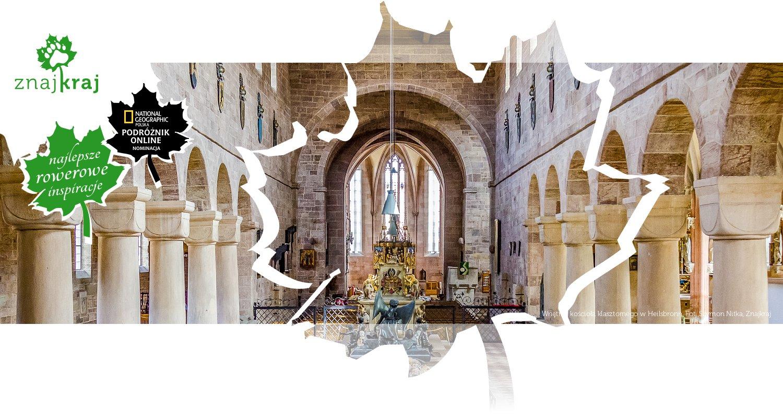 Wnętrze kościoła klasztornego w Heilsbronn