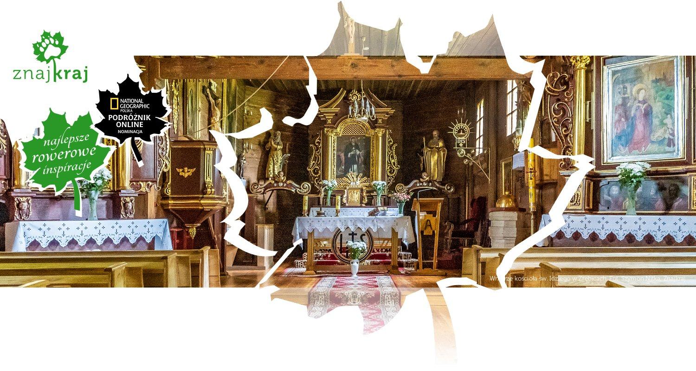 Wnętrze kościoła św. Idziego w Zrębicach