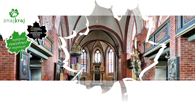 Wnętrze kościoła św. Katarzyny w Lenzen