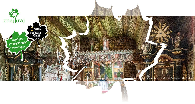 Wnętrze kościoła św. Michała Archanioła w Dębnie