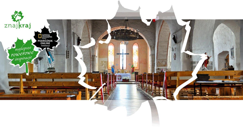 Wnętrze kościoła w Moryniu