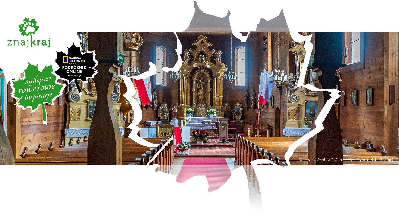 Wnętrze kościoła w Rożentalu
