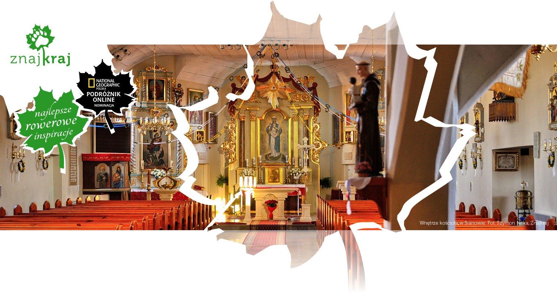 Wnętrze kościoła w Sianowie