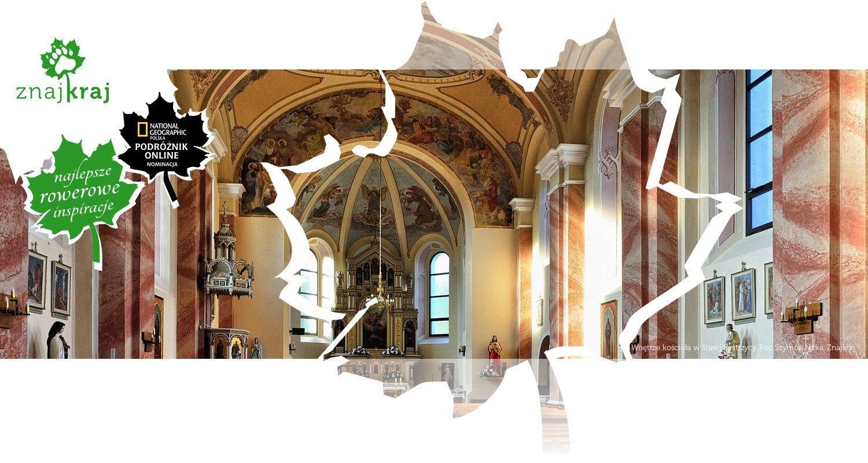 Wnętrze kościoła w Starej Bystrzycy