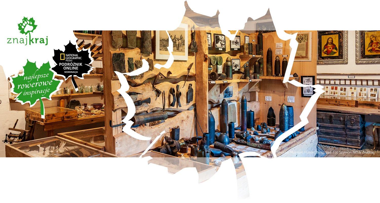 Wnętrze Muzeum Historii Bieszczad